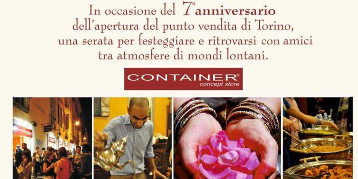 7° Anniversario Container Concept Store