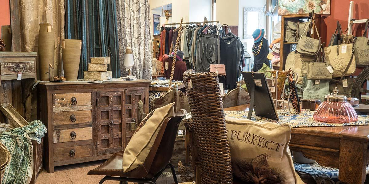 abbigliamento etnico container concept store torino