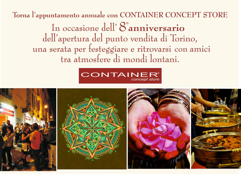 8 Compleanno Container