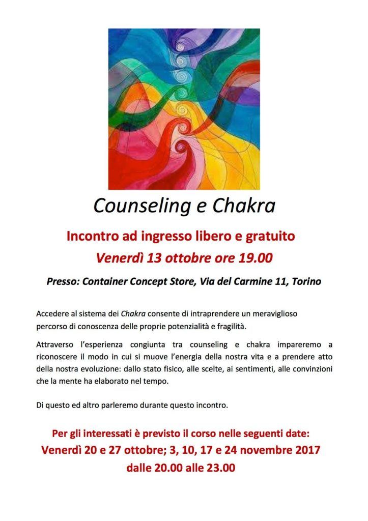 Counseling e Chakra