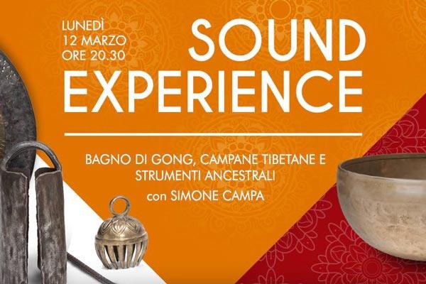 Sound Experience // Bagno Di Gong Con Simone Campa