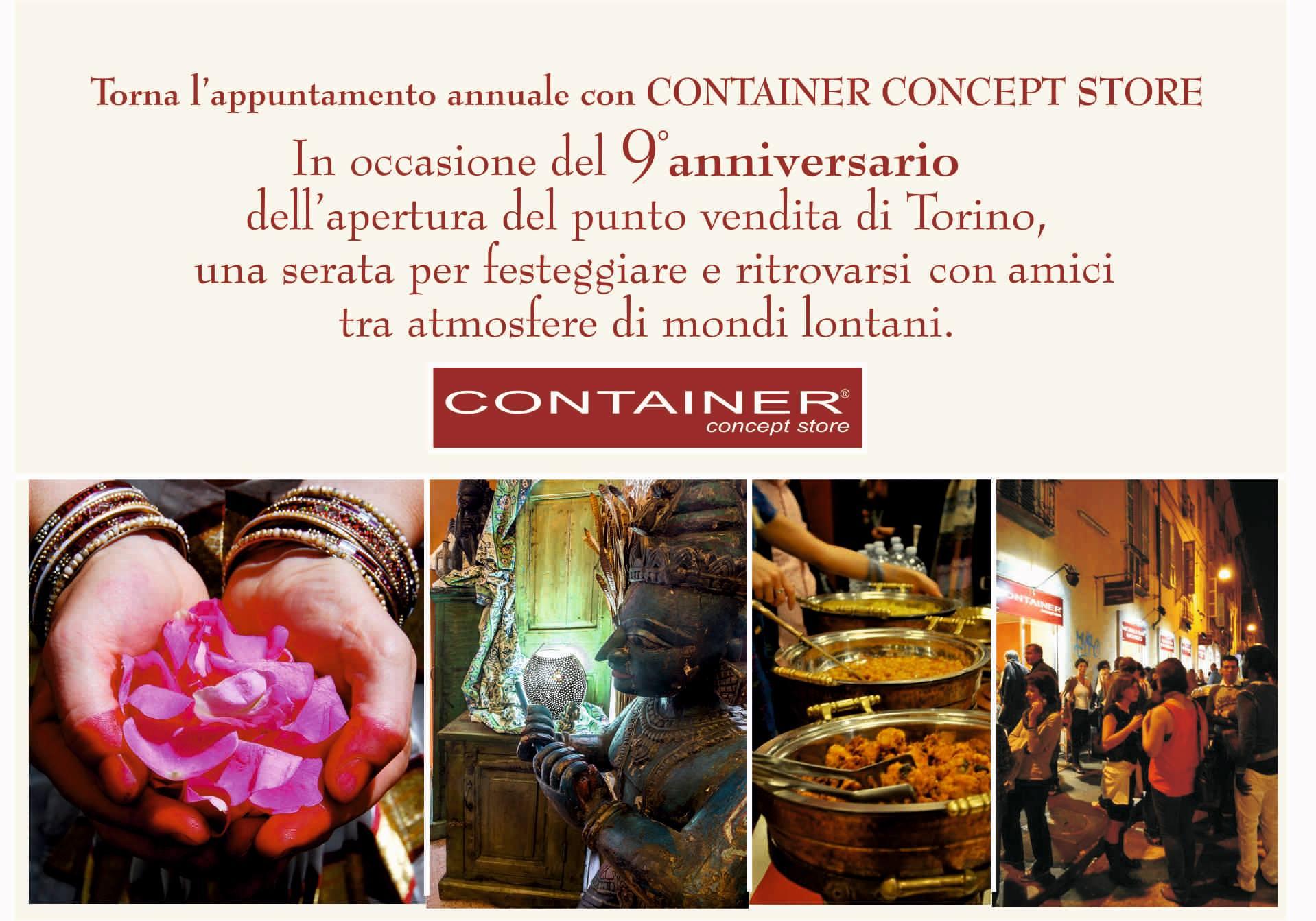 9° Anniversario Container Concept Store