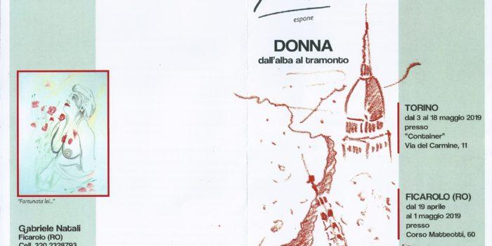 """Salone Off 2019: """"donna Dall'alba Al Tramonto"""" Di Gabriele Natali"""